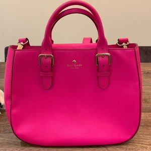 Bright Pink Kate Spade Purse